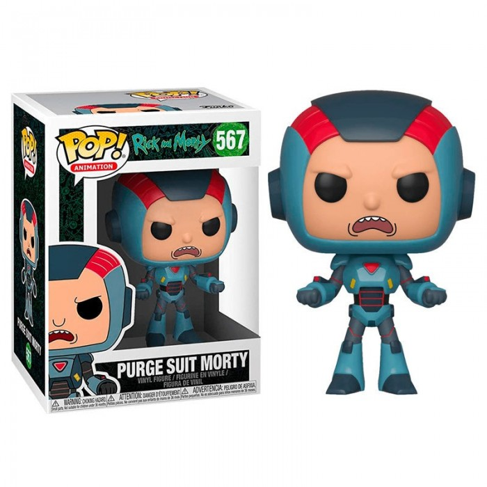 Funko Pop! Morty Traje Espacio - Rick...