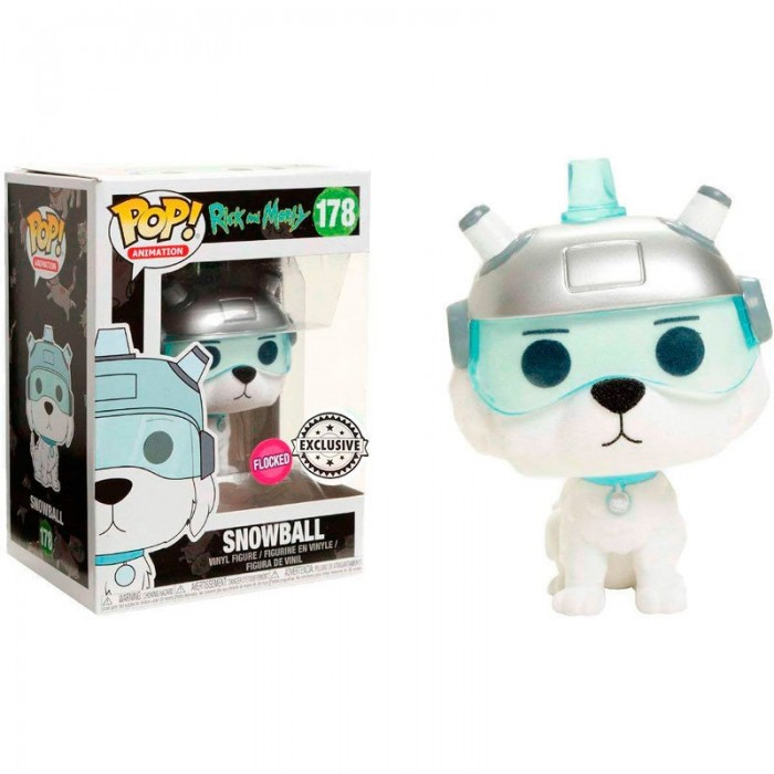 Funko Pop! Snowball Exclusivo - Rick...