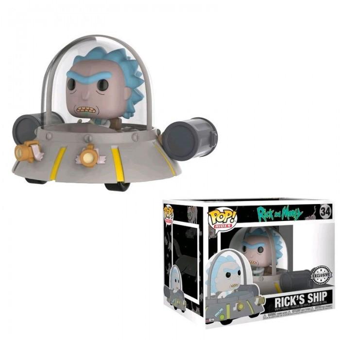 Funko Pop! Nave Exclusivo - Rick y Morty