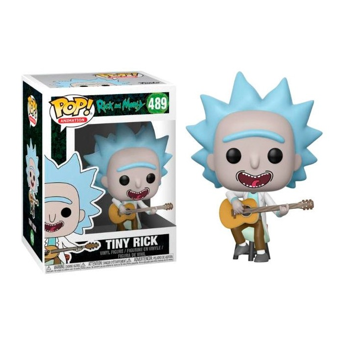 Funko Pop! Rick con Guitarra...