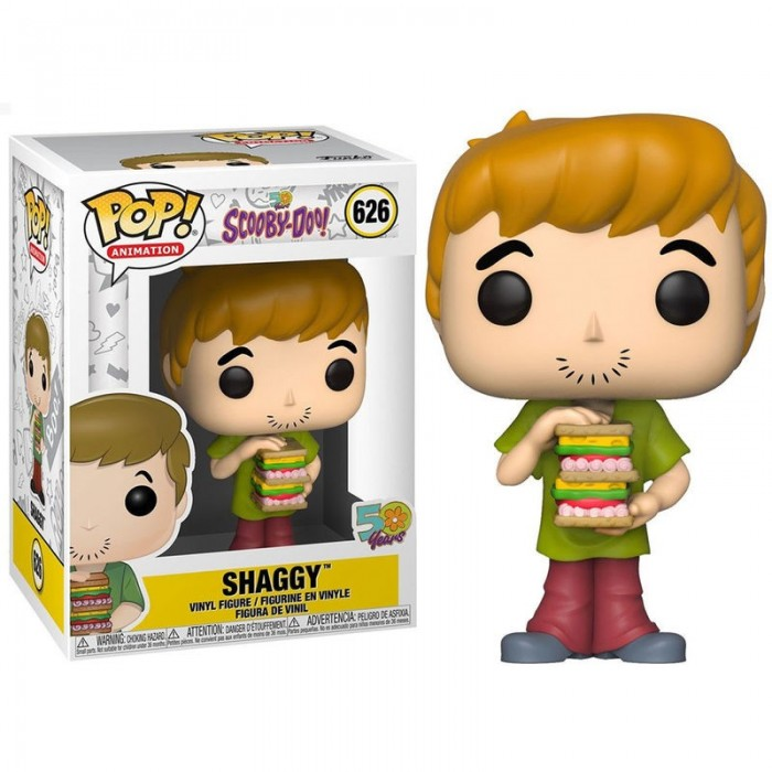 Funko Pop! Shaggy con Sandwich -...