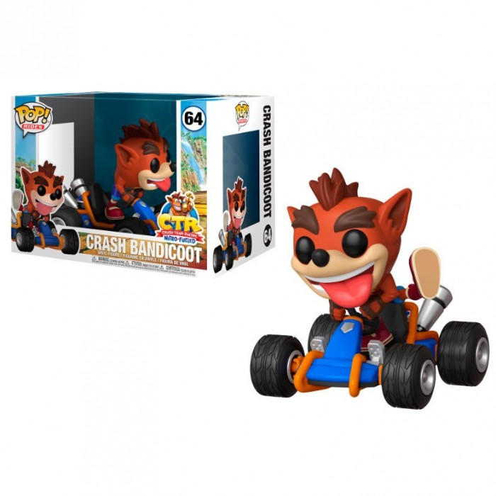Funko Pop! Crash Team Racing Crash...