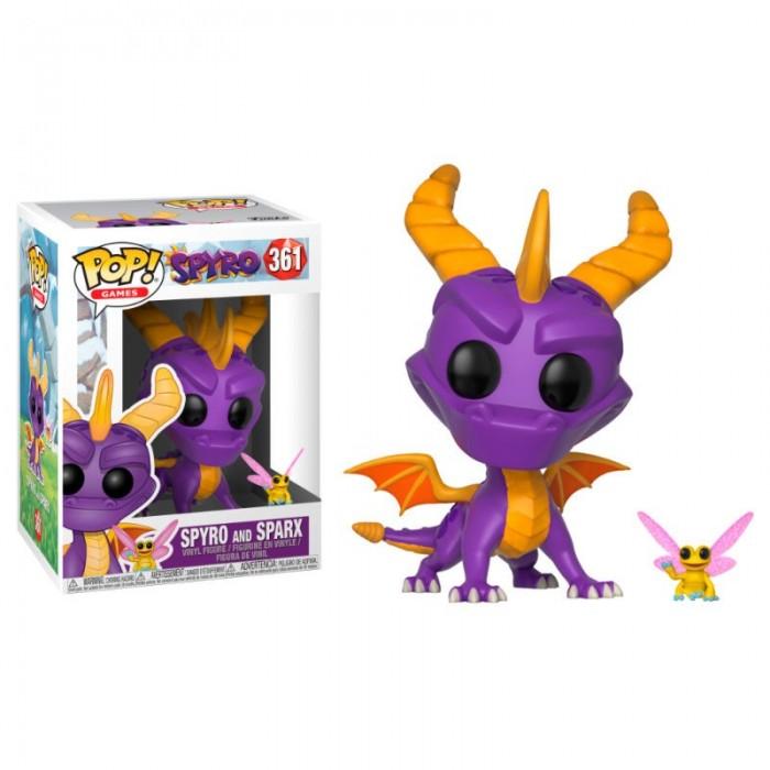 Funko Pop! Spyro y Sparx - Spyro