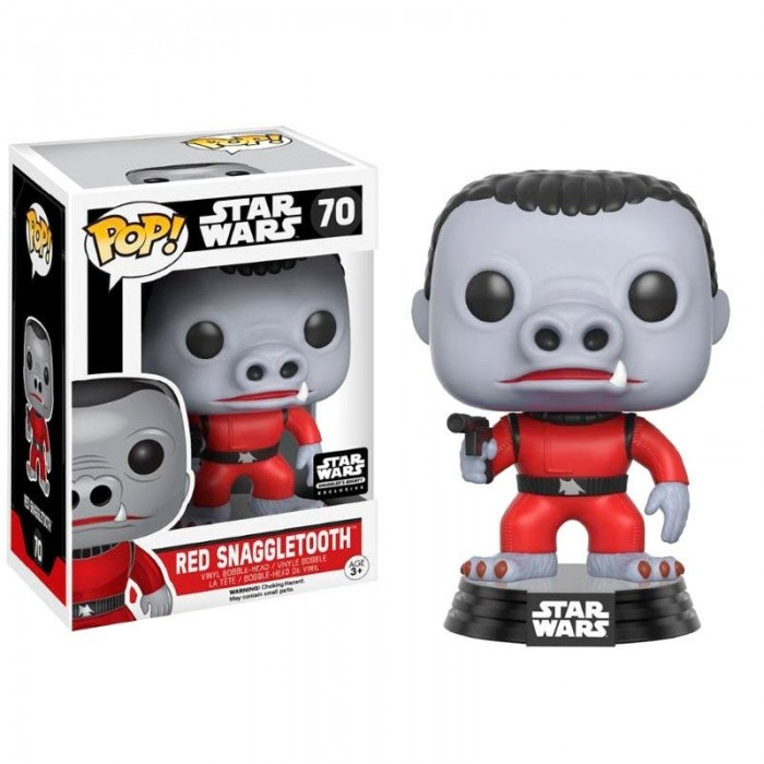 Funko Pop! Cantina Red Snaggletooth...