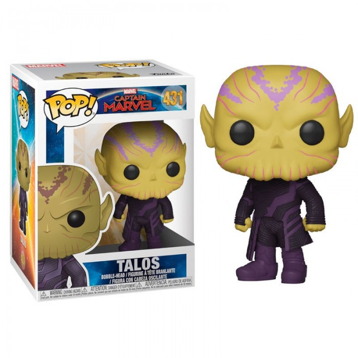 Funko Pop! Talos - Marvel: Capitana...