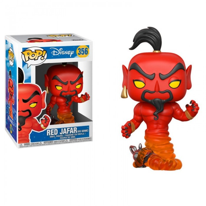 Funko Pop! Disney Jafar Rojo - Aladdin