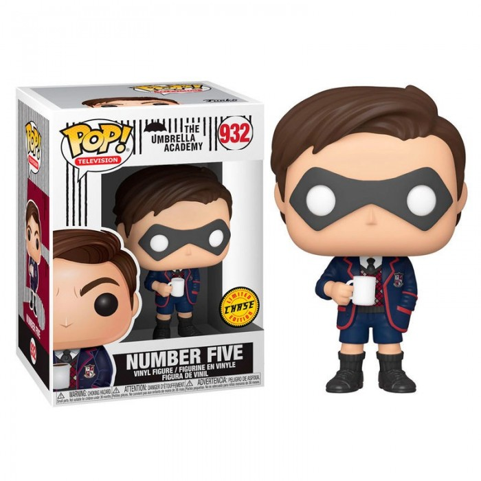 Funko Pop! Number Five Chase - The...