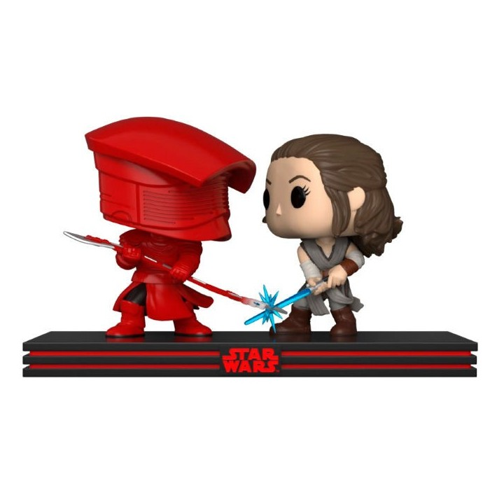 Set 2 Funko Pop! Rey vs Guardia...