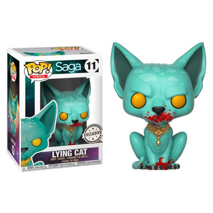 Funko Pop! Lying Cat Ensangrentado -...