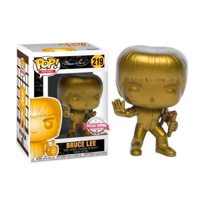 Funko Pop! Bruce Lee Exclusivo - Game...