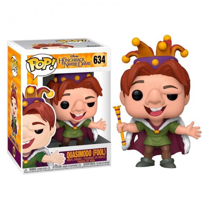 Funko Pop! Disney Quasimodo Bufón -...