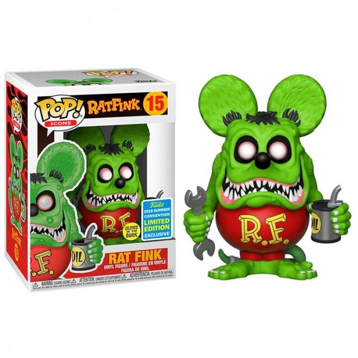 Funko Pop! Rat Fink Glow Exclusivo
