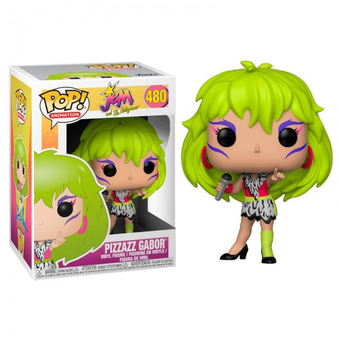 Funko Pop! Jem and the Holograms Pizzazz