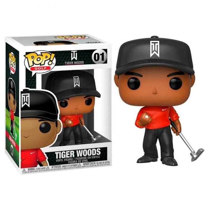 Funko Pop! Golf Tiger Woods Red Shirt
