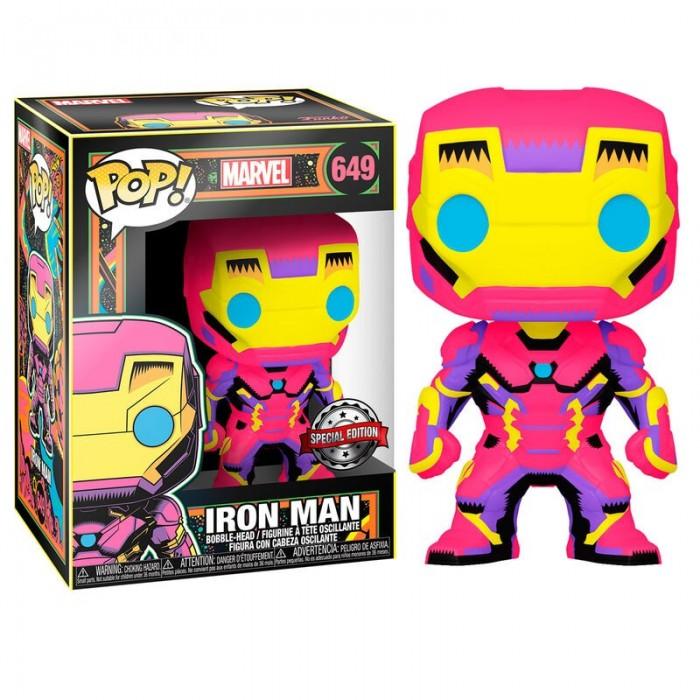 Funko Pop! Iron Man - Marvel Black Light