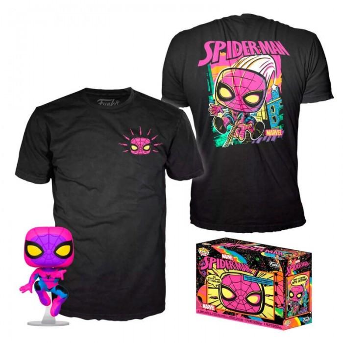 Set Funko Pop! y Camiseta Negra M -...