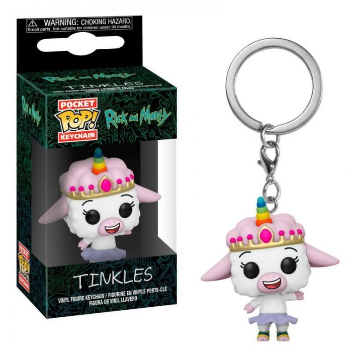 Llavero Pocket Pop! Rick y Morty Tinkles