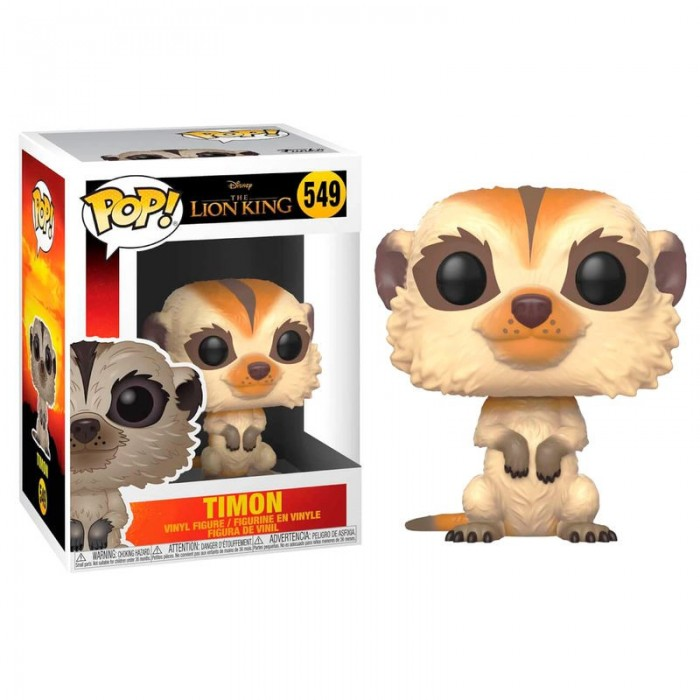 Funko Pop! Disney El Rey León Timon