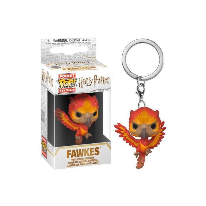 Llavero Pocket Pop! Harry Potter Fawkes