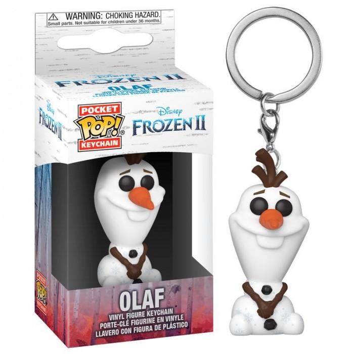Llavero Pocket Pop! Disney Frozen 2 Olaf