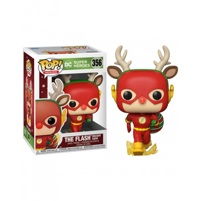 Funko Pop! Flash Rudolph Navideño -...
