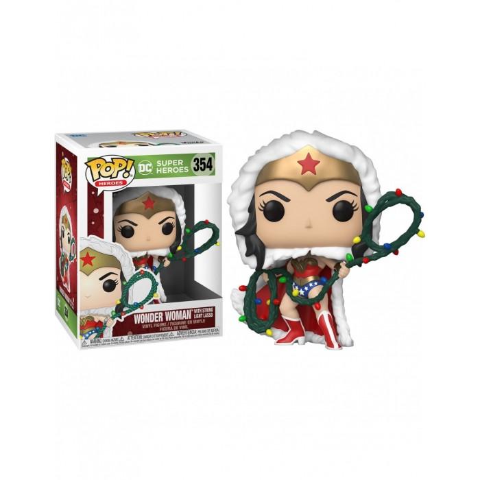 Funko Pop! Wonder Woman Con Lazo De...