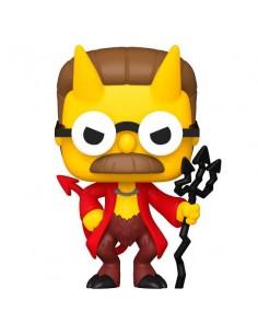 Funko Pop! Ned Flanders Demonio - Los Simpsons