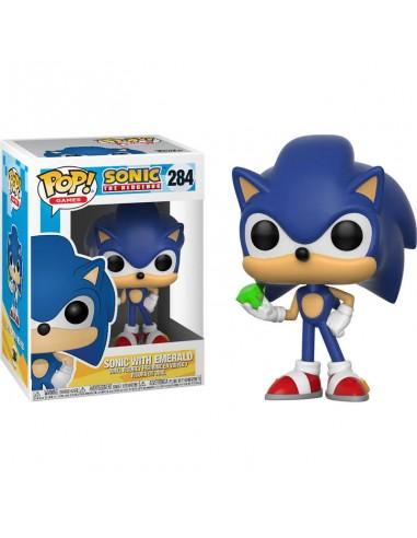 Funko Pop! Sonic con esmeralda