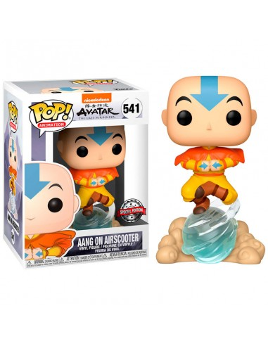 Funko Pop! Avatar Aang on Air Bubble...