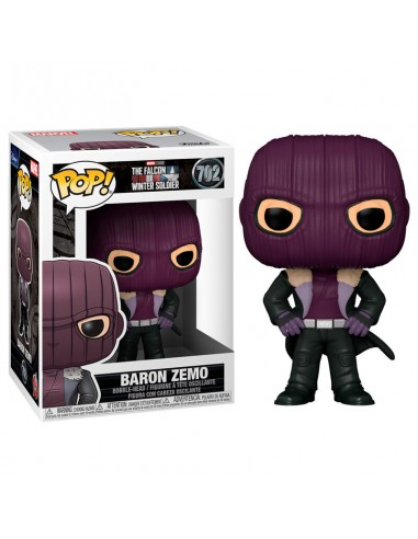 Funko Pop! Baron Zemo - Marvel:...