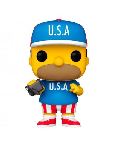 Funko Pop! USA Homer - Simpsons