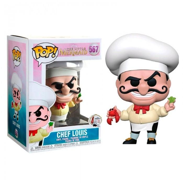 Funko Pop! Disney La Sirenita Chef Louis