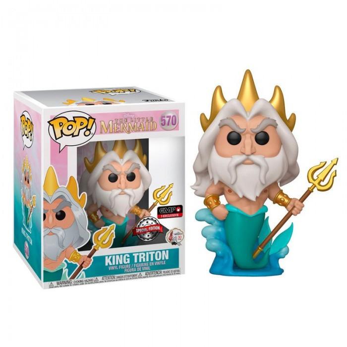 Funko Pop! Rey Tritón Exclusivo 15 cm...