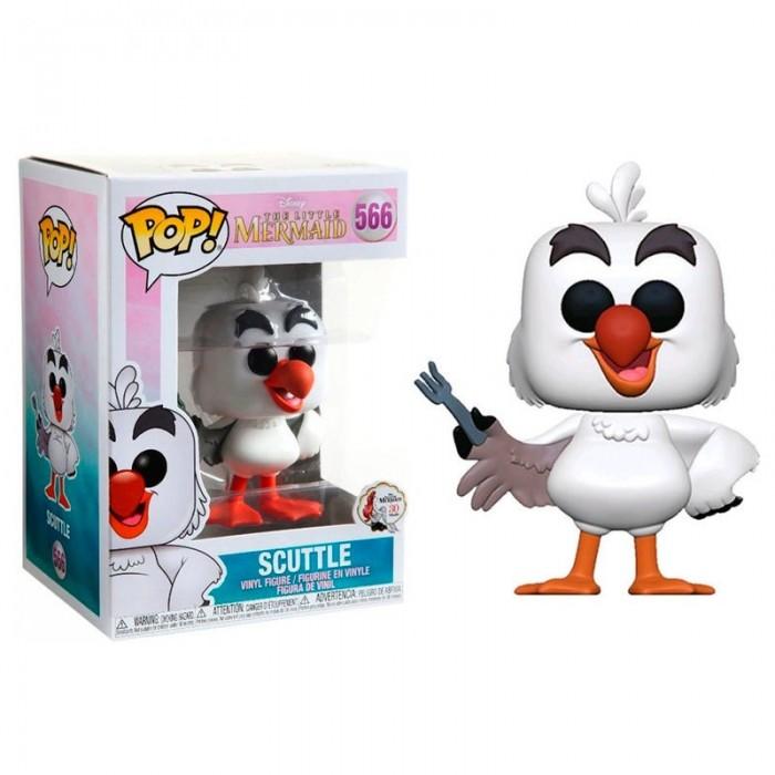 Funko Pop! Disney La Sirenita Scuttle...