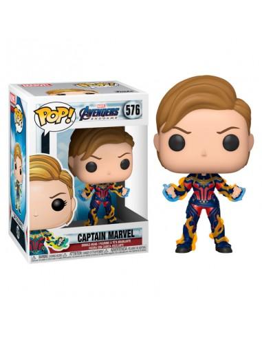 Funko Pop! Capitana Marvel Nuevo Look...