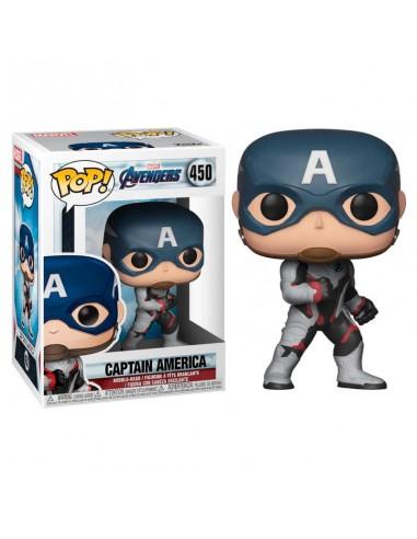Funko Pop! Capitán América - Marvel...