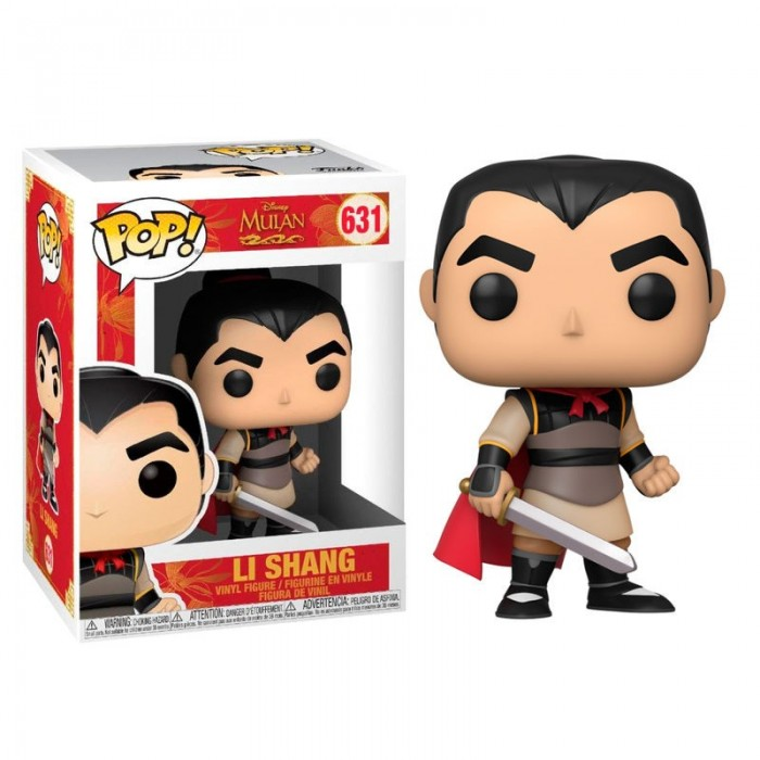 Funko Pop! Disney Li Shang - Mulan