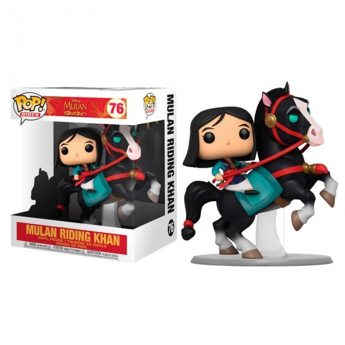 Funko Pop! Disney Mulan con Khan