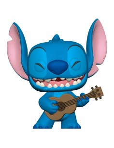 Funko Pop! Stitch with Ukelele - Disney: Lilo and Stitch