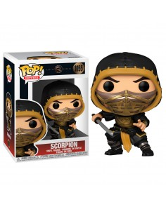 Funko Pop! Kombat Scorpion - Mortal Kombat