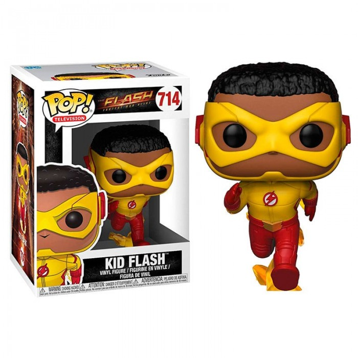 Funko Pop! The Flash Kid Flash - DC...