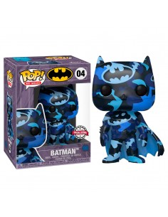 Funko Pop! DC Comics Batman 4 Artist Srs + Case Exclusivo