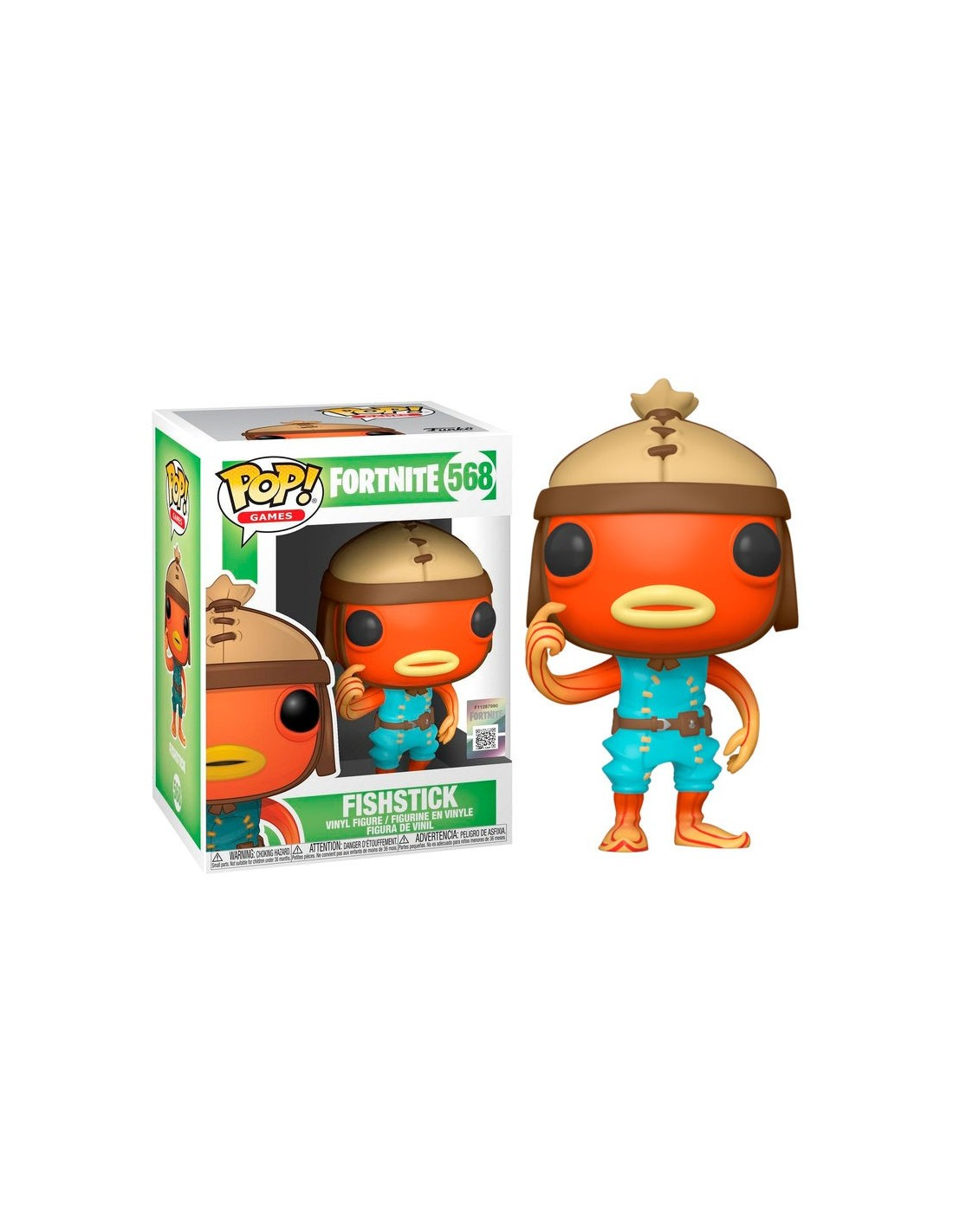 Pop Mini Figures Fortnite Funko Pop Fishstick Fortnite Mifunko Com