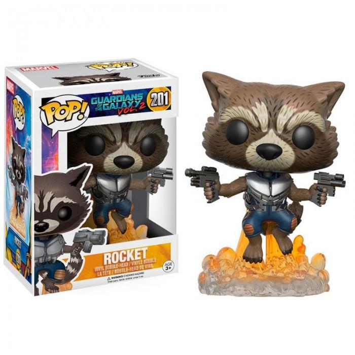 Funko Pop! Rocket - Guardianes de la...