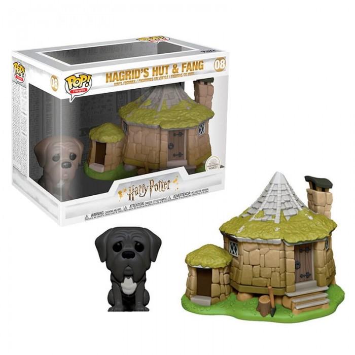 Funko Pop! Cabaña de Hagrid con Fang...