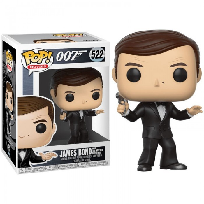Funko Pop! Roger Moore - James Bond