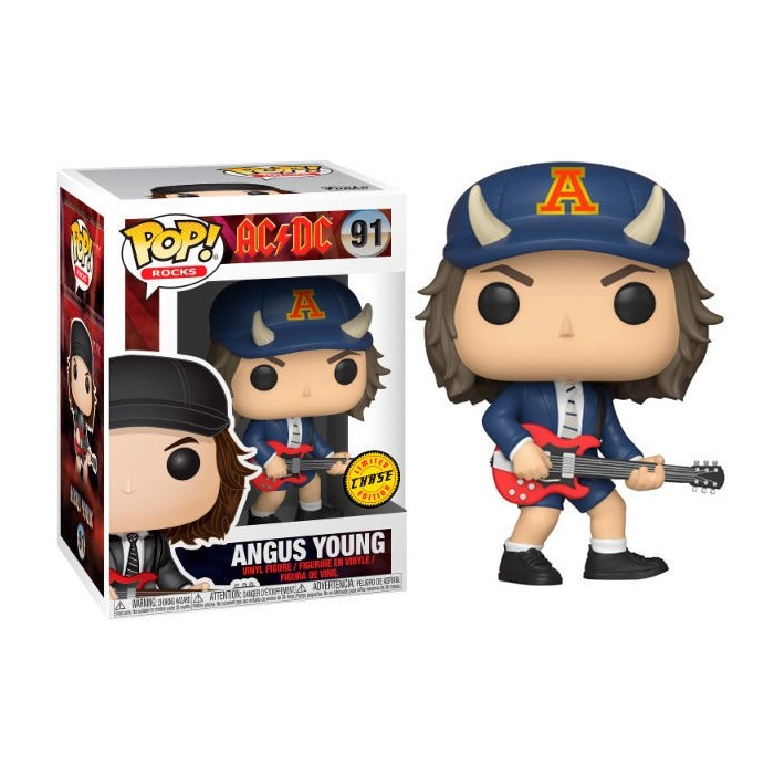 Funko Pop! AC/DC Angus Young Chase