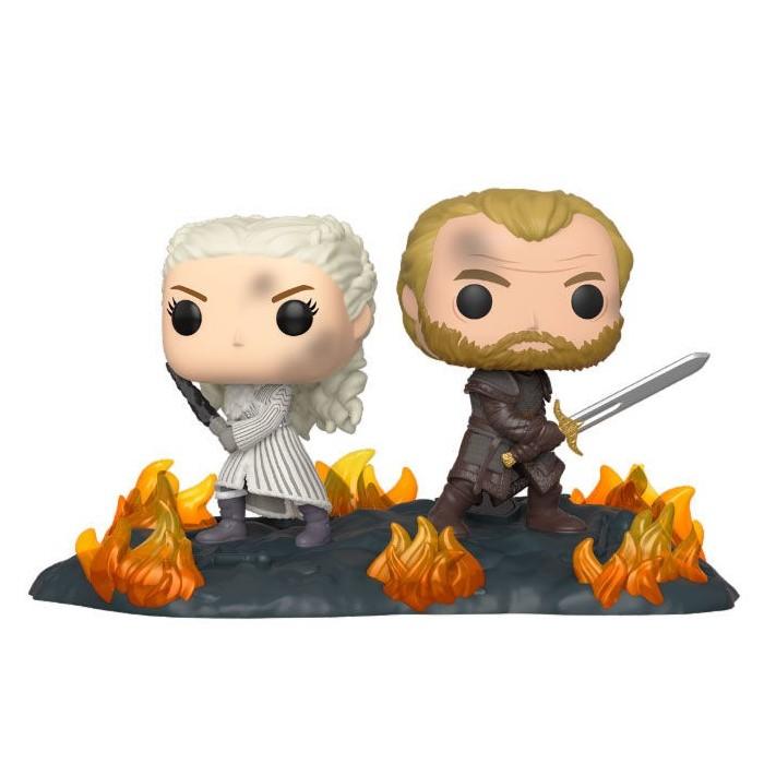 Funko Pop! Daenerys y Jorah con...