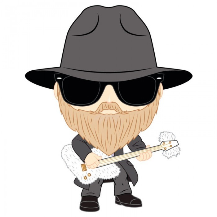 Funko Pop! ZZ Top Dusty Hill