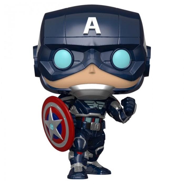 Funko Pop! Capitán América Traje...